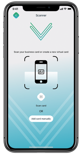 Virtual Business Cards Scanner